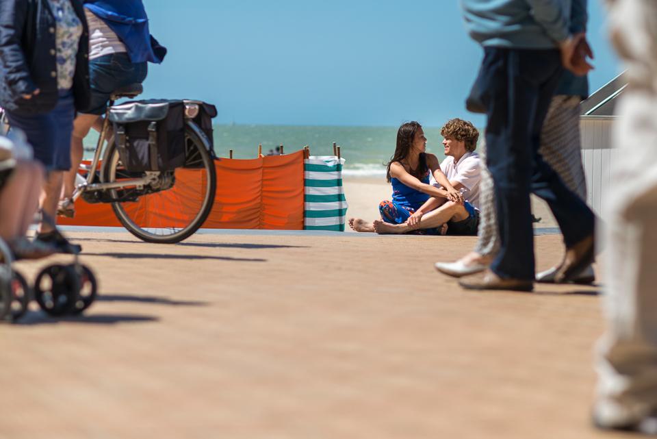 Photo session in Ostende, Belgium