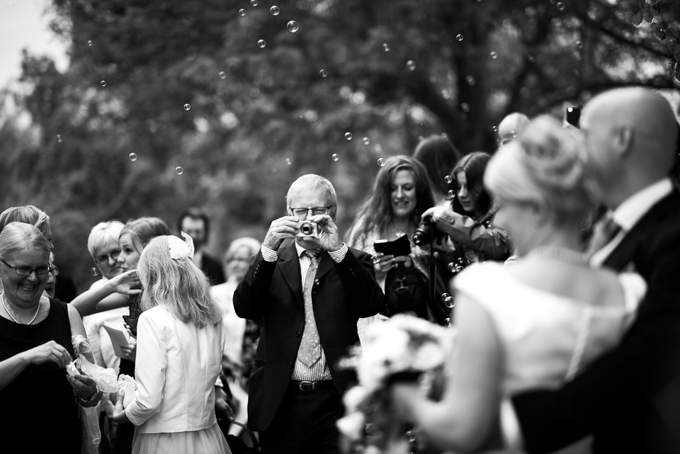A wedding day in Sweden