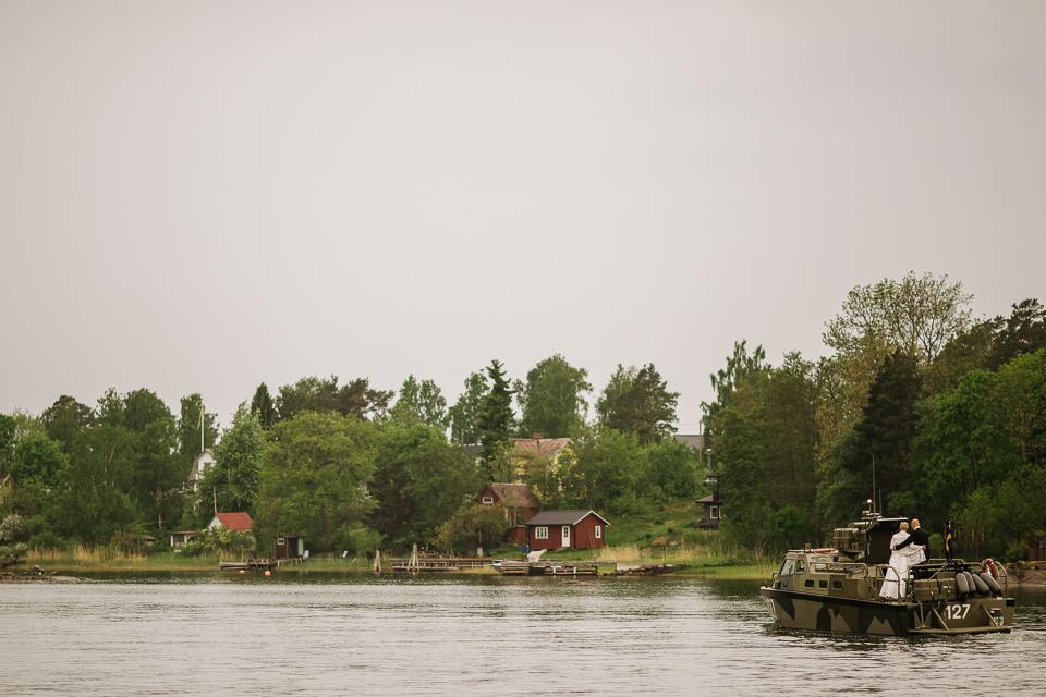 A wedding day in Sweden